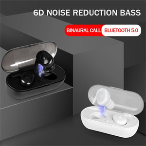 B1 TWS Wireless Bluetooth V5.0 Earphone Stereo Sport Headset Binaural Call Headphone For Mobile Phone Notebook Tablet