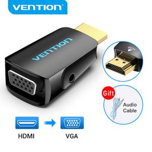 Adattatore Adattatore HDMI a VGA HDMI maschio a VGA FEAUME HD 1080P Audio Converter con 3.5 Jack per PS4 PC PC Box Proiettore