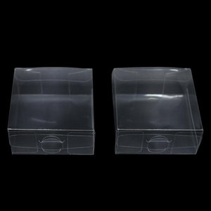 Retail Empty Clear Plastic PVC Boxes Christmas Candy Gift DIY Soap Packaging Boxes Transparent Plastic Box For Jewelry Candy