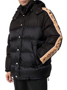 Erkekler Tasarımcı Aşağı Ceket Kaban Kış Sıcak Satış Erkek Ceketler Uzun Kollu Mektubu Kapüşonlu Aşağı Ile Baskılı Erkekler Kadınlar Moda Giyim Parkas