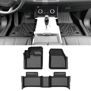 For Range Rover Evoque L551 2019-2021 Car Floor Mats All-Weather TPE Foot Mats Odorless Pad Waterproof Tray Interior Accessories