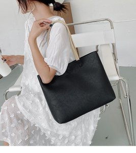 free shipping handbags casual 2020 commuter shoulder underarm bags large capacity soft leather tote bags