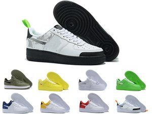 2019 top  Force one 1 AF1 Uomo Donna Scarpe da corsa One 1 di alta qualità Low Cut All White Black Triple uomo Scarpe da ginnastica all'aperto Sneakers Taglia 36-45