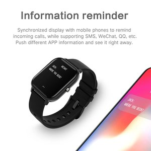 P8 1.4 inch Smart Watch Men Full Touch Fitness Tracker Blood Pressure Smart Clock Women GTS Smartwatch for Xiaomi