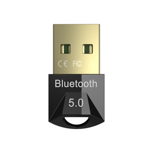 Bluetooth 5.0 USB Adapter, Computer Dongle, Wireless Mouse Keyboard, PS4, Aux, Audio, Bluetooth 5, Transmitter Receiver