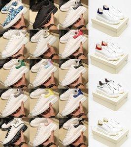 Mens Plataforma Sapato Womens Clássico Speaker Snaper Suíte de Sapatilhas Tregem de Couro Tênis De Couro Estendos Sapatos Casuais