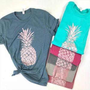 020 New Pineapple T Shirt Women Harajuku Kawaii Short Sleeve T shirt Vogue 90s Korean Style Tshirt Fashion Top Tees Female