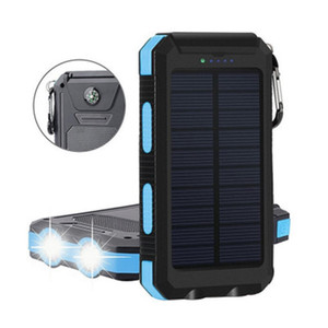 뜨거운 판매 미니 울트라 씬 태양 전원 은행 무선 전원 은행 25000mAh 대용량 USB 휴대용 전원 공급 장치