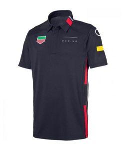 F1 Formel One-Fans Kurzärmeliges Poloshirt, Autokultur-Overall, Team Co-Branded Schnelltrocknende Tops können angepasst werden
