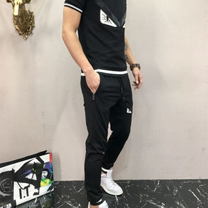 2020 High quality Men Sports sets blouse + trousers 2pcs Spring and Autumn Leisure sets Men clothing L7YLGM3W