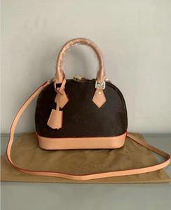 Luxurys дизайнеры Crossbody сумки сумка Shell Bag Messenger Сумки женские кожаные кожаные ALMA BB сумки сумки сумка сумка для сумки 2919