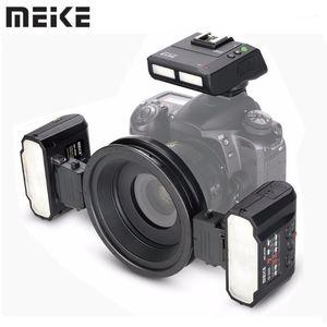 Meke Meike -MT24 II -MT24C -MT24N -MT24S ماكرو التوأم لايت speedlight فلاش ل D3300 D800DSLR كاميرا 1