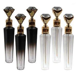 5ml Diamond Cap Plástico Lip Gloss Tube DIY Lip de brilho Garrafa de contêineres vazios Cosméticos Container Ferramenta Maquiagem Organizador1