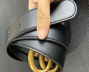 2021 الكلاسيكية النحاس حزام مصمم فاخر بيرل مشبك GGأحزمة للرجال امرأة حزام جينز الخصر حزام مع مربع