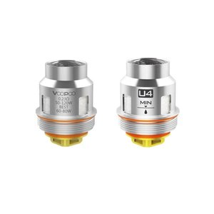 Authentic Voopoo Uforce Coil Head Replacement Core U2 U4 U6 U8 N1 N2 N3 D4 P2 Mesh Vape Core for Uforce Tank Drag 2 Kit