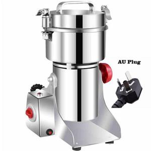 800A Granos Especias Hebals Cereales Café Alimentos Dry Grinder Molino Máquina Máquina Grist Mistmill Inicio Medicina Harina Polvo Trituradora