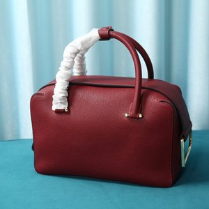 Ladies' bag 7A high-end customized D-shaped pull ring and cube structure removable shoulder straps 035454