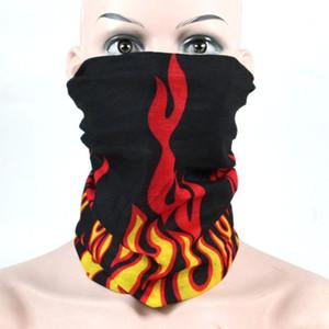 Foulard de visage magique respirant sans soudure Foulard extérieur Cool Silk Headscarf Camouflage Masque Masque Multifonction Scarf Capuchon CapeCarf GWF3745