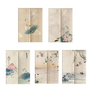Noren Curtain Panel Doorway Tapestry Curtain Drapes Room Divider Fengshui Decor for Home Window Door Ornament