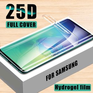 Hydrogel Film For Samsung Galaxy S8 S9 S10 Plus Screen Protector For Galaxy Note 8 9 10 Plus S10e Soft Film Not Glass