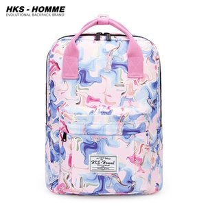Fashion Backpack Women Preppy School Bags For Teenagers Backpack Female Canvas Travel Bags Girls Laptop Backpack Mochilas 201130