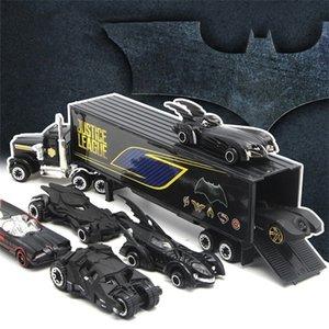 Simulation 1:64 Alloy Car Set of Justice league Batman Batmobile Diecasts & Toy Vehicles Toy Car Model Toys For Children Kids Z1124
