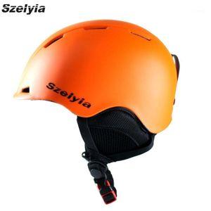 Szelyia NOUVEAU Hiver Snowboard Snowboard Ski de ski Equipement de casque Snow Sports Saftly Security Helmets Skate Equitation Equitation 20171