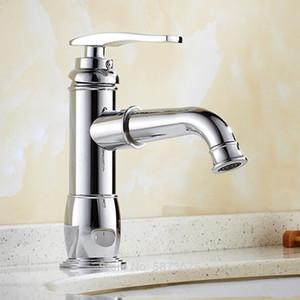 Chrome cobre puro agujero de un solo agujero cuenco caliente y frío ducha electroplato ducha placa moderna grifo rotativo