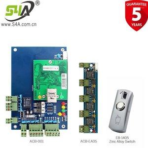 Leitura elétrica do painel elétrico e leitor de cartão com chave de saída Kits completos Access Control System1
