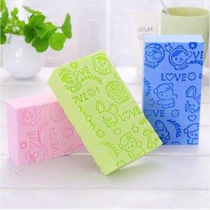 3 pcs mágica esfoliante banho esponja de chuveiro para esfoliação corporal escova de pé escova corpo corpo banheiro fornece removedor de pele limpo y1126
