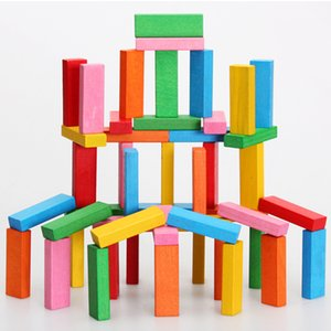 Toy baby 48pcs color stacking high toy early education educational building block building toy, each is 5.06 US dollars