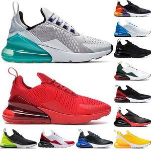 270 Almofada New Running Shoes tamanho grande 36-49 Run Sneakers Triplo Preto South Beach Hot perfurador Mens Trainers Womens Runner Moda sapatos nos 13