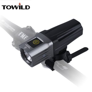 TOWILD Professional 1600 Lumens Bicycle Light Side Warning IPX6 Waterproof USB Rechargeable Bike Light Flashlight Accessories Z1204