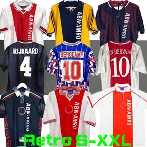 1994 1995 Ajax Retro Soccer Jersey 94 95 96 Rijkaard Kluivtt Lightmanen Seedorf Davids Overmars 04 05 Football Football 1989 Shirt Babel 97 98 99 2000