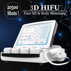 Profesional 9D 3D HIFU Máquina de la cara Levantamiento de la piel Apretamiento de la piel Alta intensidad enfocada Ultrasonido Equipo de belleza SPA Use la eliminación de arrugas contra el envejecimiento