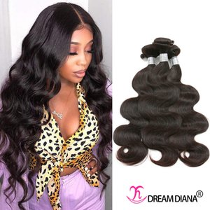 Quality 10A Grade Mink Brazillian Virgin Hair 3 or 4 Bundles Body Wave 100% Unprocessed Human Hair Bundles Peruvian Remy Hair Extensions