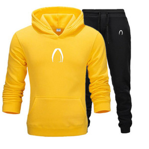 New Fashion Men Hoodies Suits Designer Tracksuit Men Women Sweatshirts Sweatpants Autumn Winter Fleece Hooded Pullover Tracksuit
