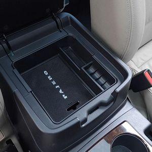 Organiseur de voiture Console de stockage Console de stockage pour Mitsubishi Pajero V93 V97 V98 2007-2021