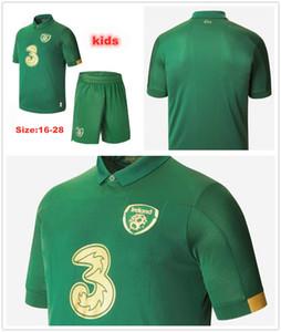 2020 Ireland home away FC European Cup Soccer Jerseys 20 21 National team Ireland men and kids green kit football Shirts Uniforms