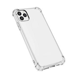 Super Anti-Nate Soft Soft TPU прозрачные четкие чехлы для телефона защитные крышки с противодействием классическим чехол для iPhone 7 8Plus XR X MAX 11 PRO