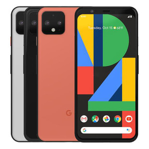 Refurbished Original Google Pixel 4 5.7 inch Octa Core 6GB RAM 64GB 128GB ROM Android 10 Unlocked 4G LTE Smart Mobile Phone Free DHL 1pcs