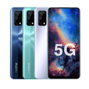 "Original Realme V5 5G Mobile Phone 6GB RAM 128GB ROM MTK 720 Octa Core Android 6.5"" Full Screen 48MP 5000mAh Face ID Fingerprint Cell Phone"