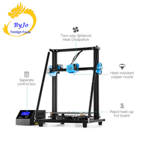 3D Upgrade CR-10 V2 Printer Size 300*300*400mm,BL touch Silent Mainboard Resume Printing with Mean well Power Supply