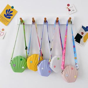 Korean Style Girls Mini Purses 2020 Cute Little Girl Silica Gel Messenger Bag Kids Small Coin Pouch Toddler Clutch Bag Gift