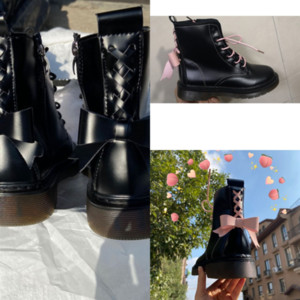 5zNRH leather boots, thick soledboots, fashionable and comfortable boots short front water high quality table, m high heel,