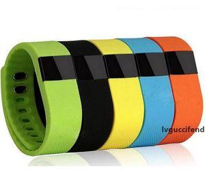 TW64 Braccialetto intelligente Bluetooth 4.0 Attività fitness Tracker Band Braccialetti Smartband Sport Orologio sportivo Non Fitbit Flex Fit Bit IOS TW 64
