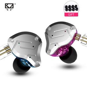 2019 kz zs10 pro 4ba + 1dd kz hybride écouteur oreillette hifi oreillettes dans l'oreille moniteur casque oreillettes pour kz as10 zs10 zsn pro