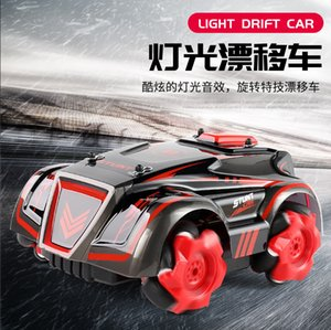 Popular 4WD high speed stunt crosswalk drift light off road vehicle new charging children's remote control car