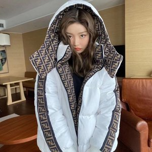 2020 the design of the new double-sided thermal jacket full letter men's and women's cotton clothing thickened thermal popular logo female h