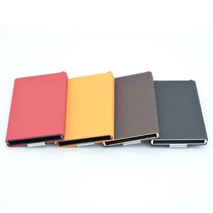 인기있는 알루미늄 슬림 ID 보호자 홀더 크리 에이 티브 편리한 실용적인 정전기 방지 지갑 지갑 머니 클립